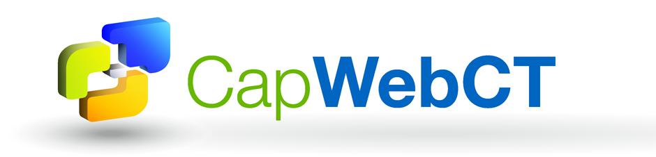 Refonte du logo CapWebCT pour la Direction des Systèmes d'Information du Conseil général du Val d'Oise. Eric Martin ©2014