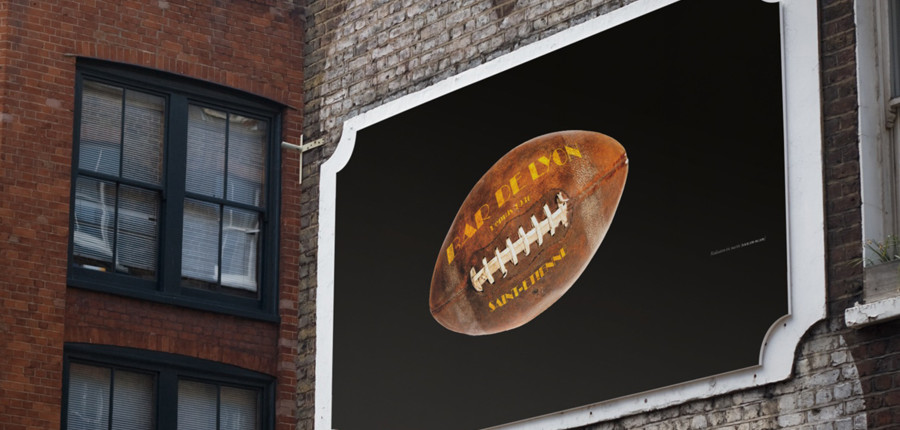 Création d'une affiche pour le Bar de Lyon à Saint-Etienne. Eric Martin ©2014