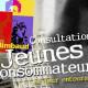 Flyer pour la Consultation Jeunes Consommateur du Centre Rimbaud de Saint-Etienne. Eric Martin ©2014