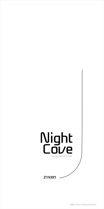 Packaging pour NightCove de la SAS Zyken. Eric Martin ©2014